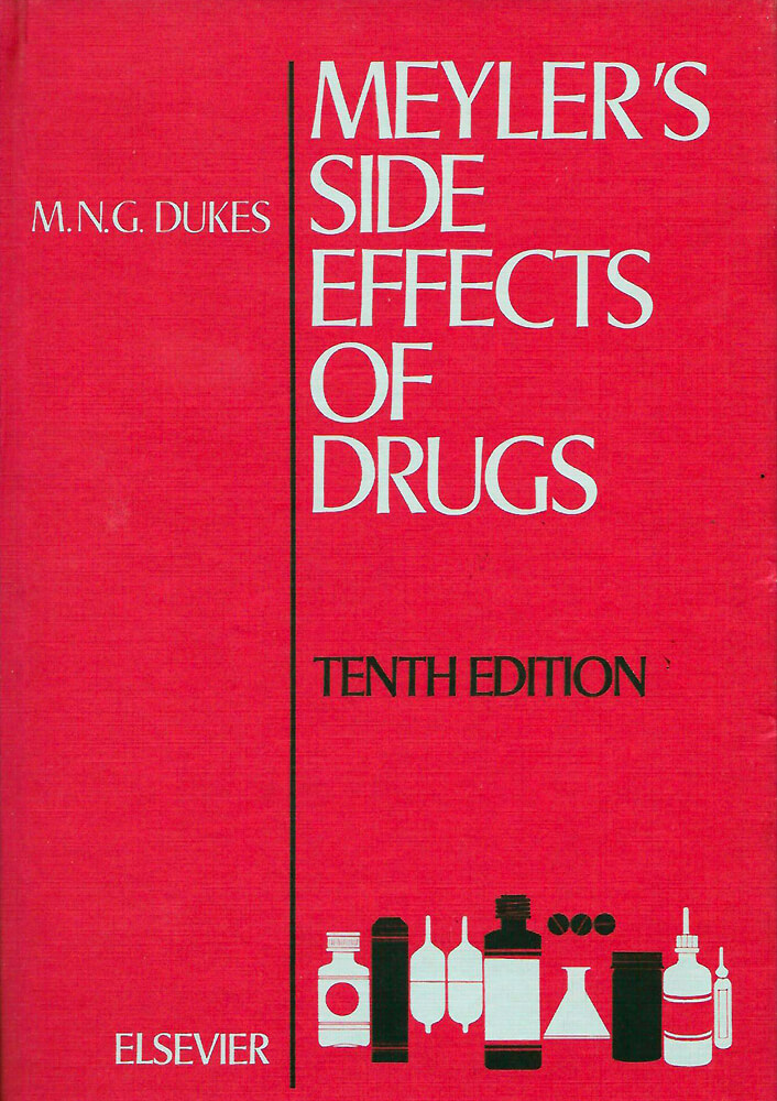 Bookcover Meylers Side Effects Of Drugs